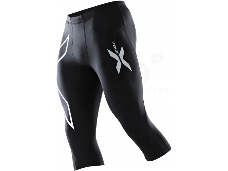 2xu collant 3 4 perform compression m pas cher v tements homme running compression en promo. Black Bedroom Furniture Sets. Home Design Ideas