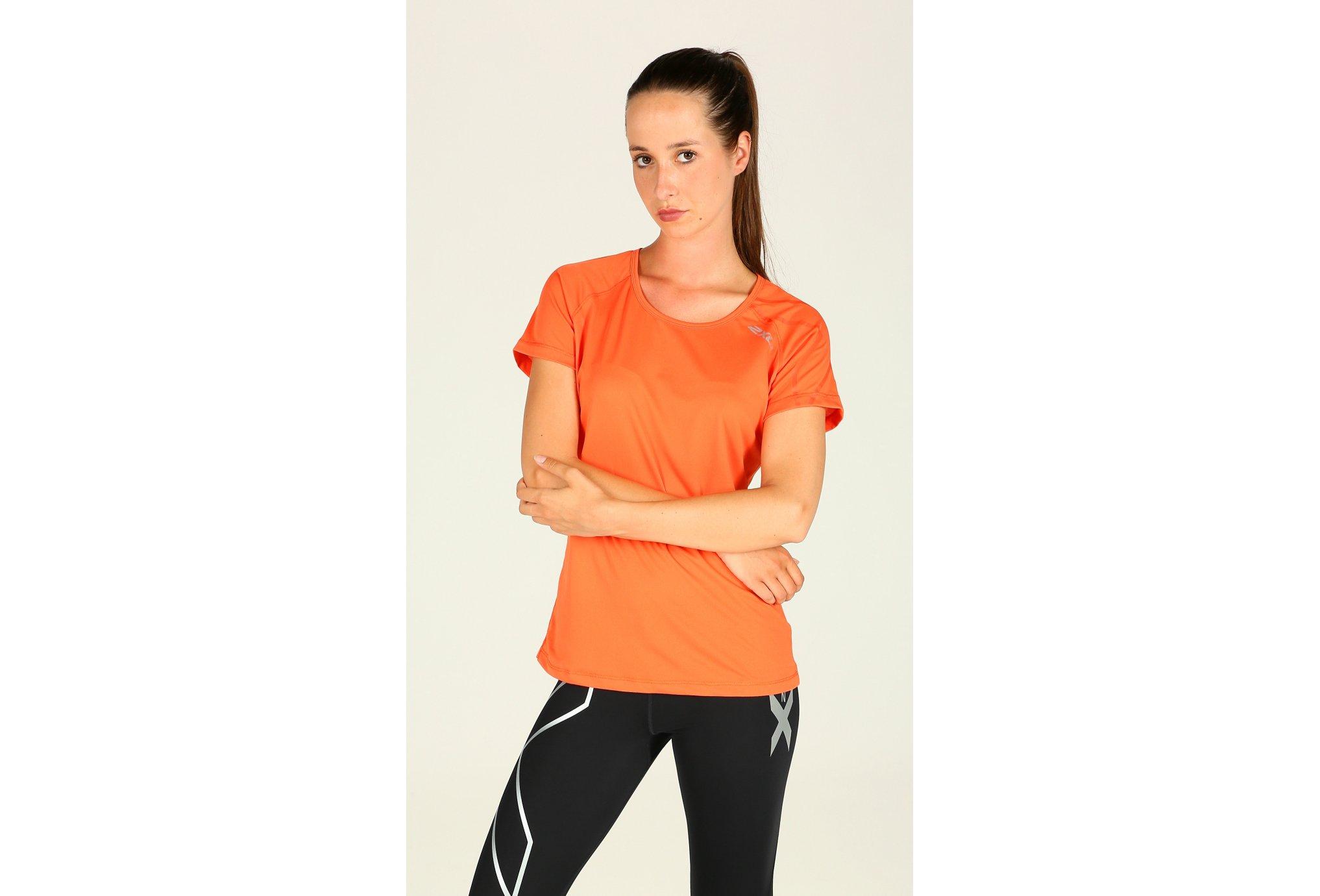 2xu Tee-Shirt ghost top w vêtement running femme