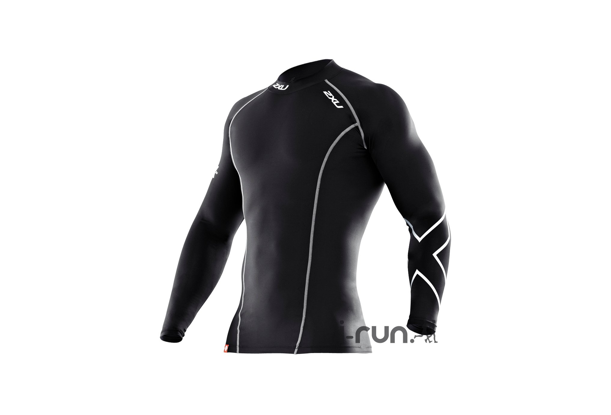 2xu Tee-Shirt l/s xform compression m vêtement running homme
