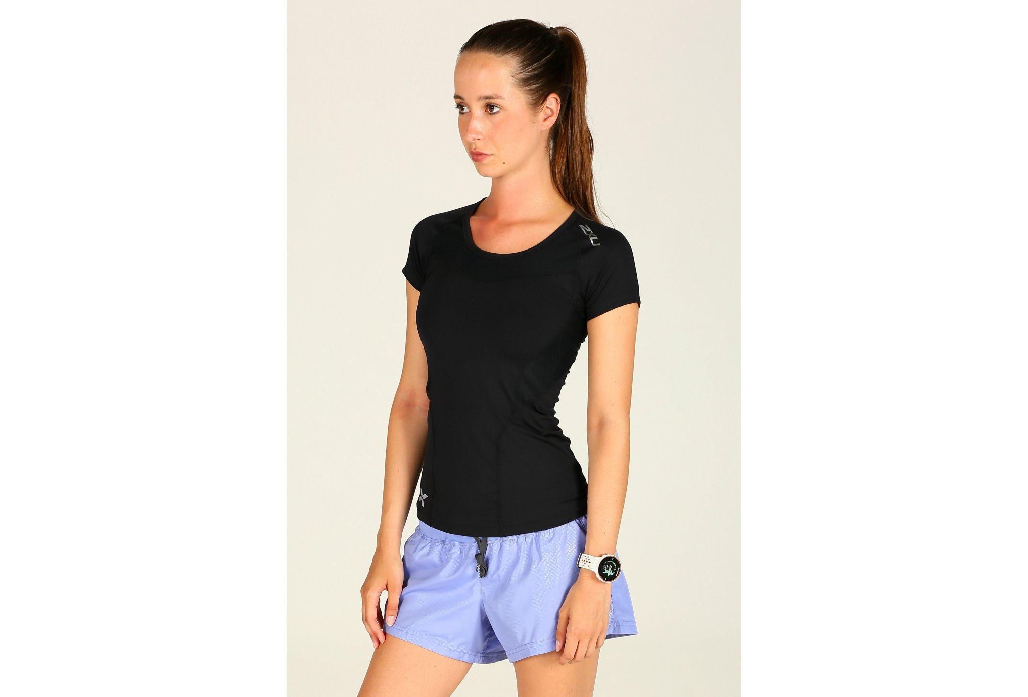 2xu Tee-Shirt s/s xform compression w vêtement running femme