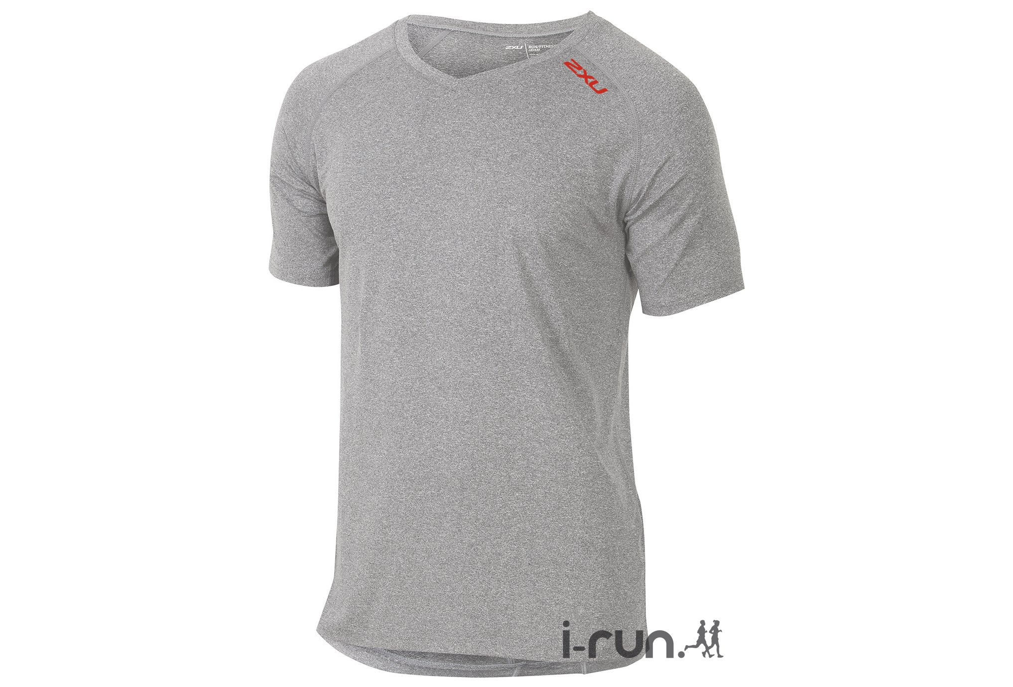 2xu Tee-Shirt urban v-neck m vêtement running homme