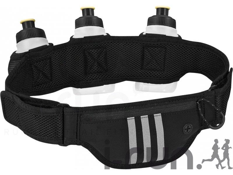 Adidas ceinture adidas porte bidons accessoires running sac hydratation gourde adidas - Ceinture porte gourde running ...