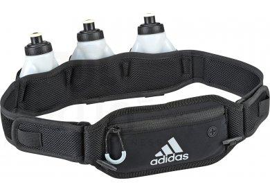 Adidas ceinture run porte bidon pas cher accessoires running sac hydratation gourde en promo - Ceinture porte gourde running ...