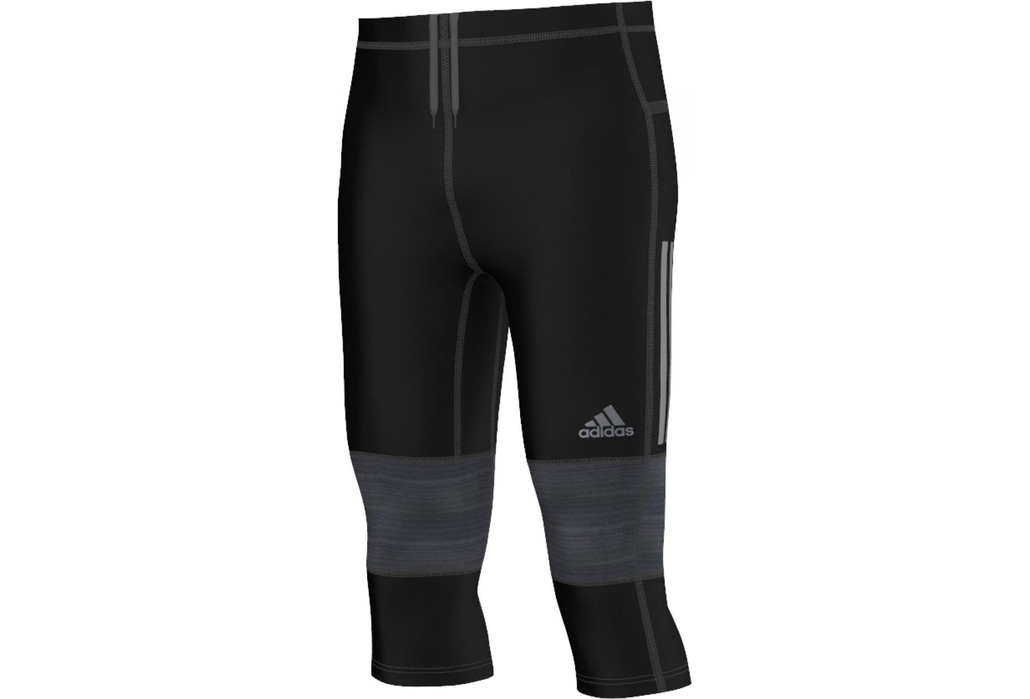 Adidas Collant 3/4 supernova m diététique vêtements homme
