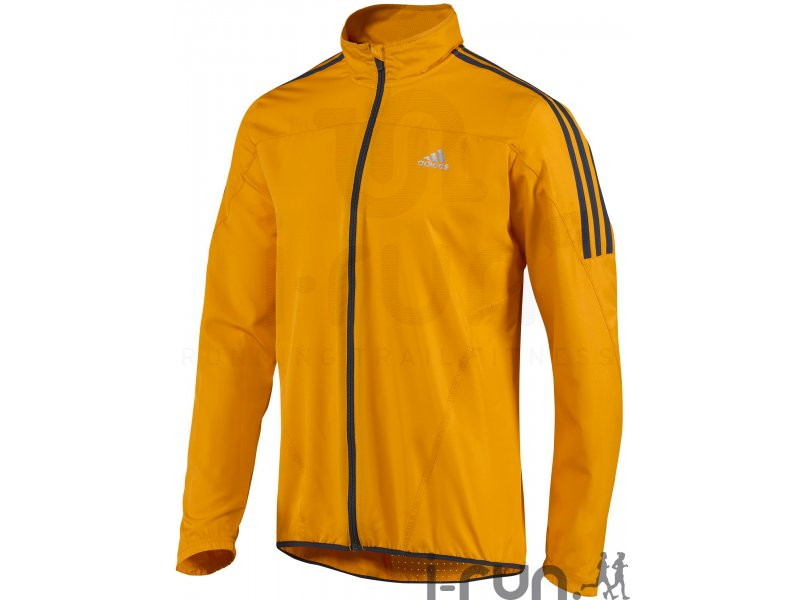 adidas coupe vent response wind ds pas cher v tements homme running vestes coupe vent en promo. Black Bedroom Furniture Sets. Home Design Ideas