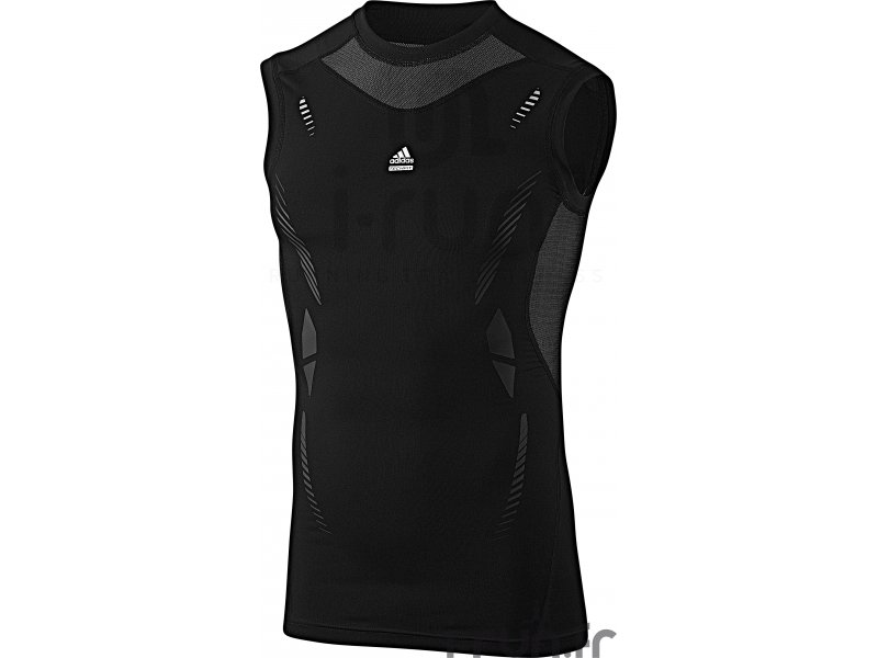 adidas d bardeur adidas techfit noir pas cher v tements homme running compression en promo. Black Bedroom Furniture Sets. Home Design Ideas