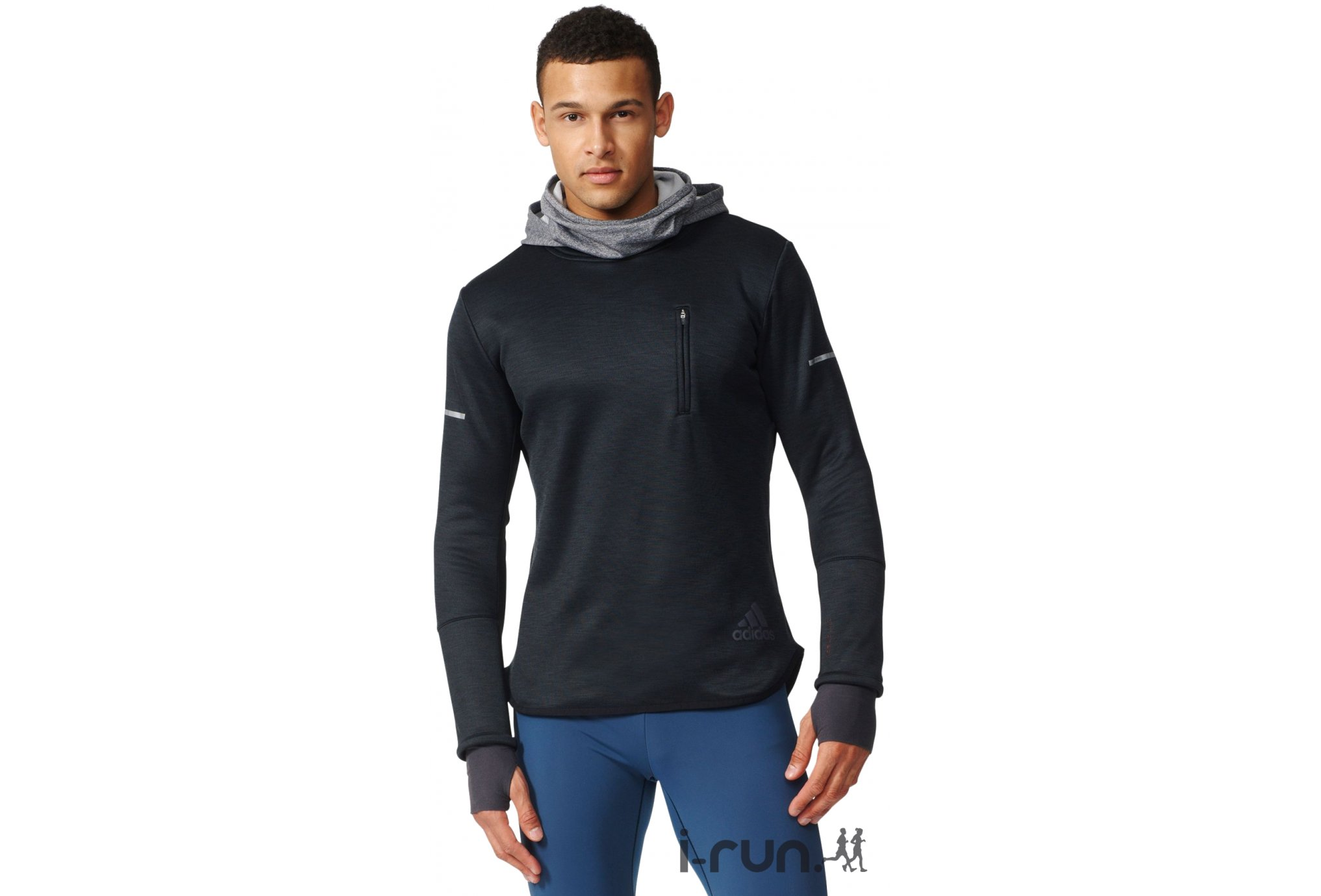 Adidas Sequencials climaheat hoodie m vêtement running homme