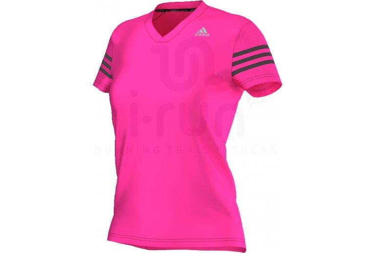camiseta gimnasio mujer adidas
