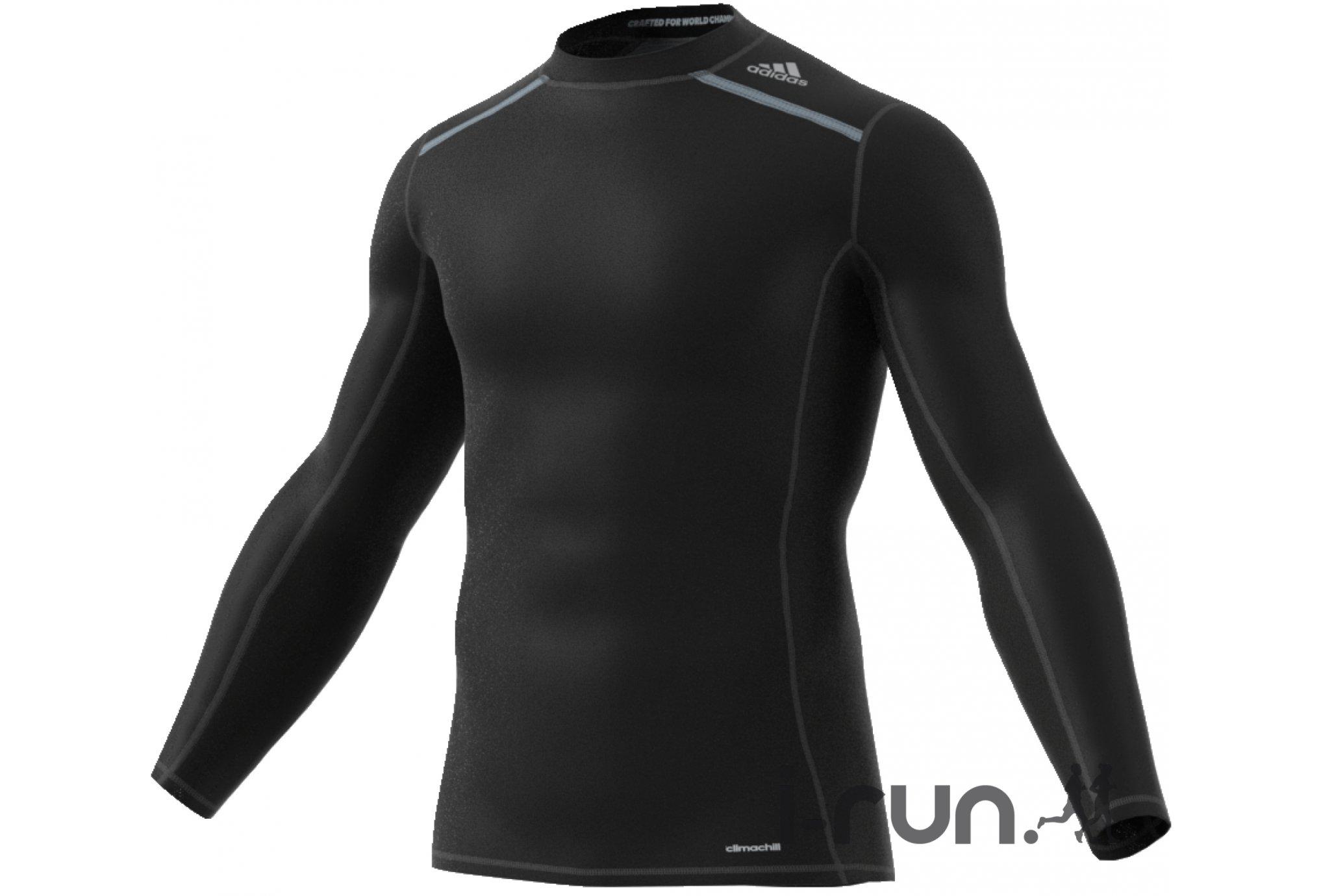 adidas Tee-Shirt Techfit ClimaChill M vêtement running homme