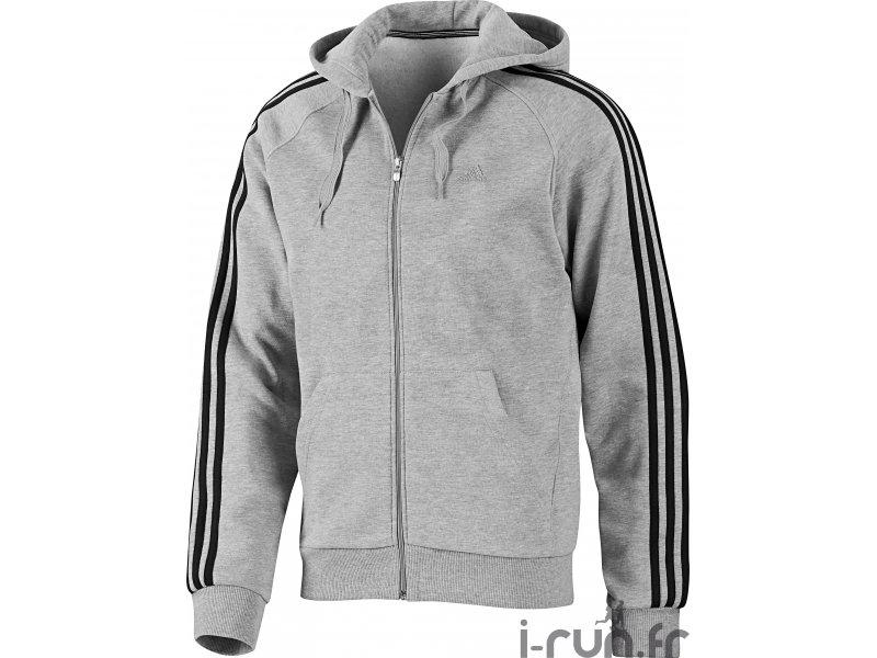 Adidas originals Spess Fz Teddy Gri Veste Zippée Sherpa