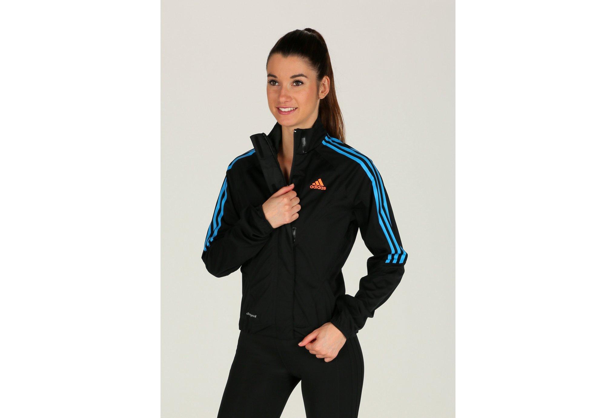 adidas Veste Tour Rain W vêtement running femme