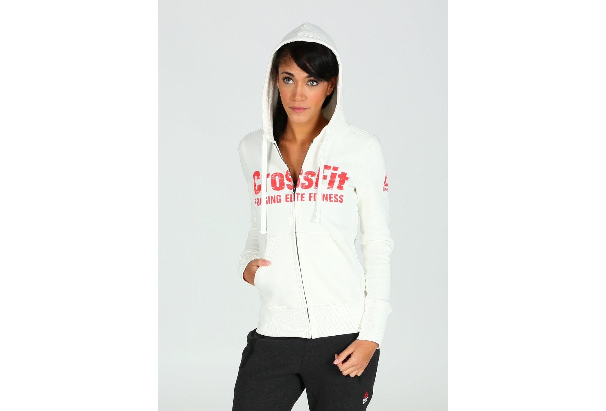 Reebok CrossFit Full Zip W vêtement running femme