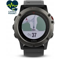 Garmin Fenix 5X GPS Multisports Sapphire