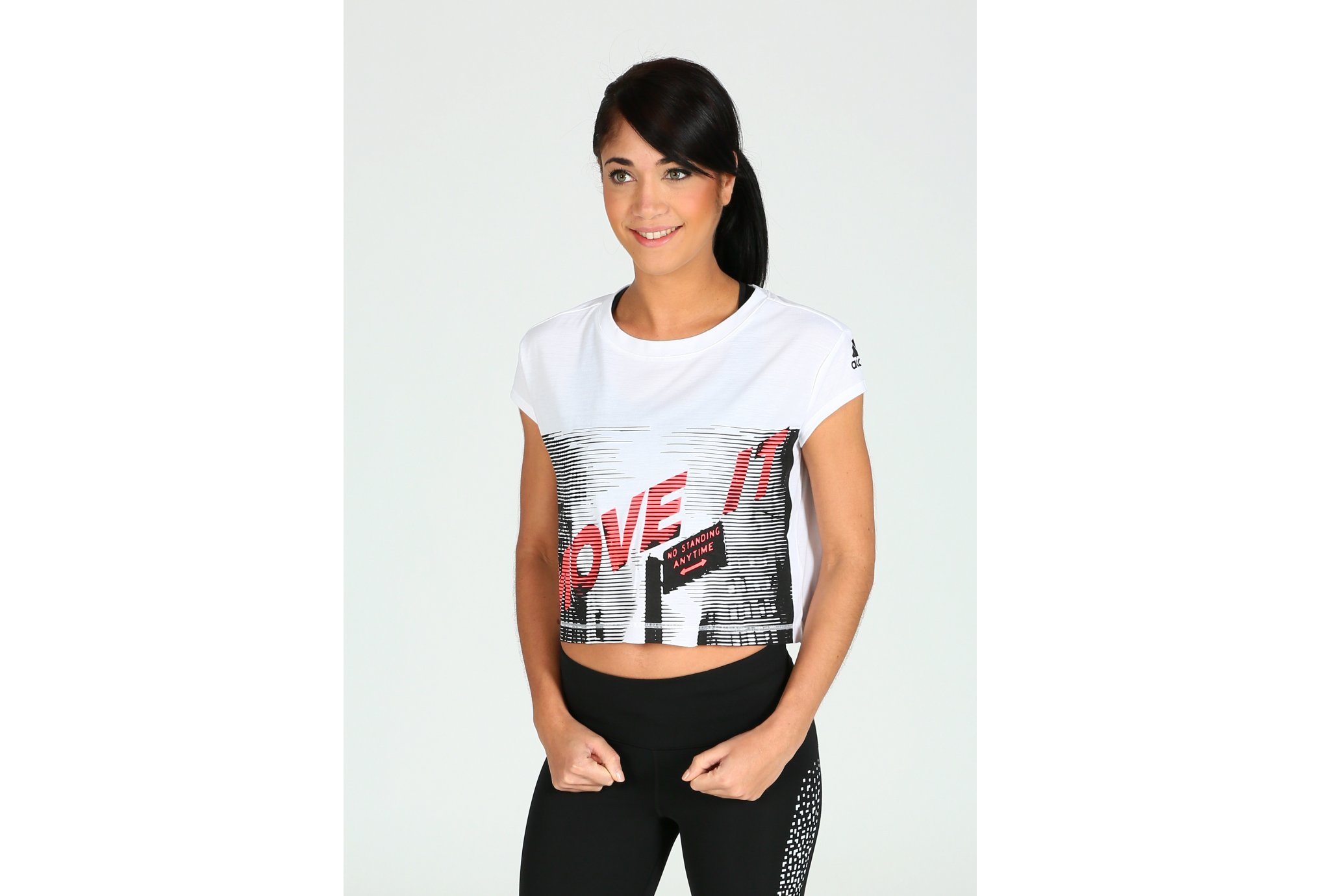 adidas Tee-Shirt Dance W vêtement running femme