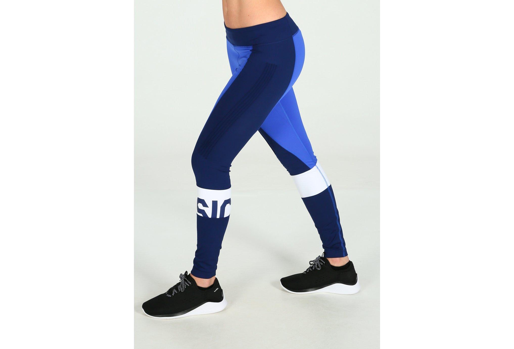 Asics Color block tight w vêtement running femme