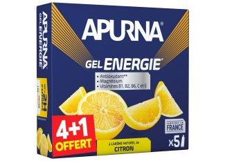 Apurna Pack de geles energéticos-Limón  4+1