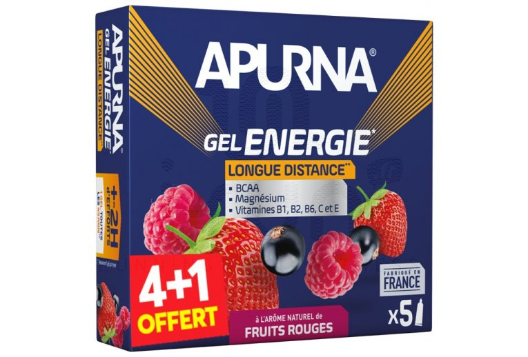 Apurna Etui gels +2h fruits rouges 4+1