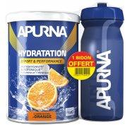 Apurna Préparation Hydratation - Orange + Bidon Offert