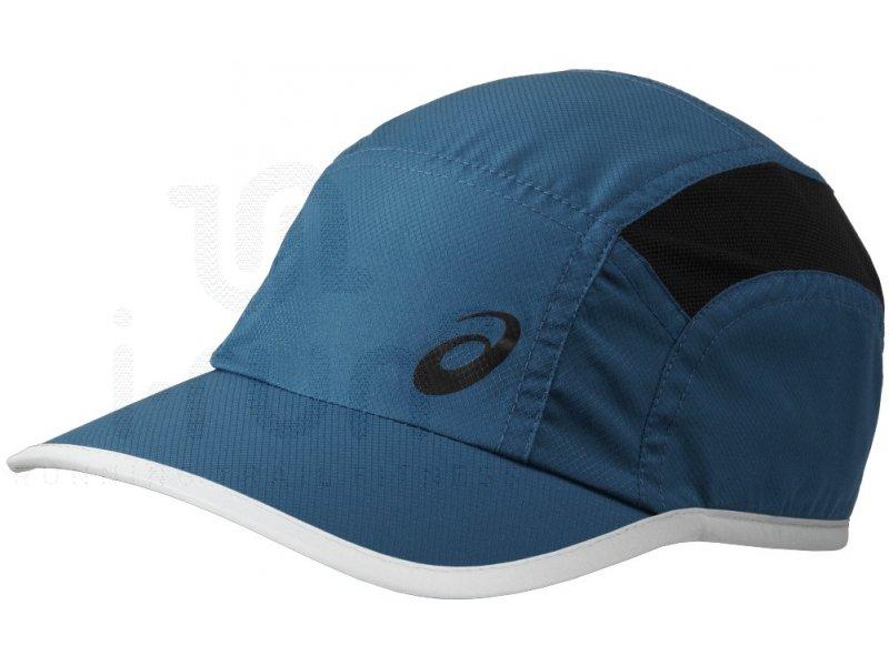 asics casquette running cap pas cher accessoires running casquettes bandeaux en promo. Black Bedroom Furniture Sets. Home Design Ideas
