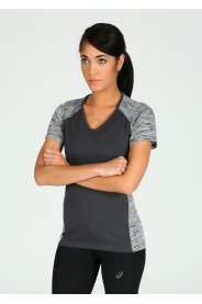 Asics FuzeX V-Neck SS Top W