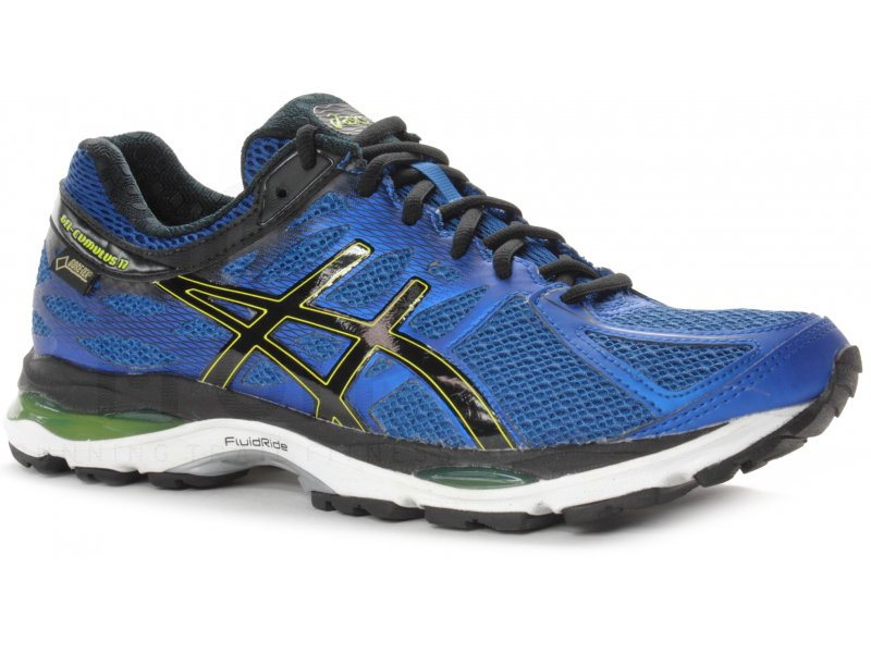 asics gel cumulus 17 gore tex m pas cher chaussures homme running route chemin en promo. Black Bedroom Furniture Sets. Home Design Ideas