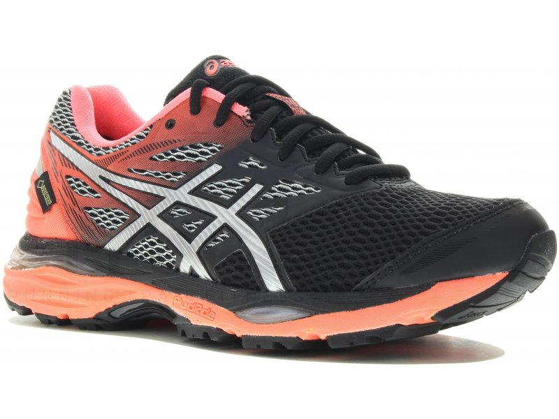 asics gel cumulus 18 gore tex w pas cher chaussures running femme running route chemin en promo. Black Bedroom Furniture Sets. Home Design Ideas