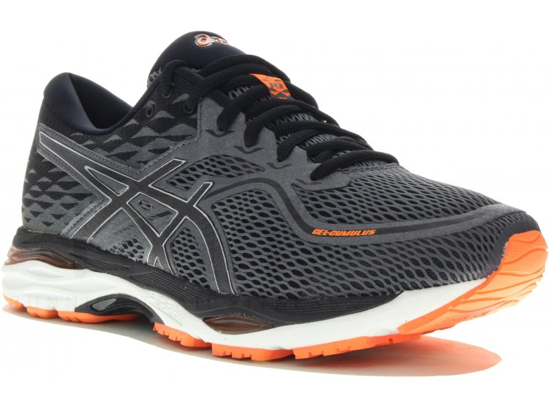 asics gel cumulus 19 m pas cher chaussures homme running route chemin en promo. Black Bedroom Furniture Sets. Home Design Ideas