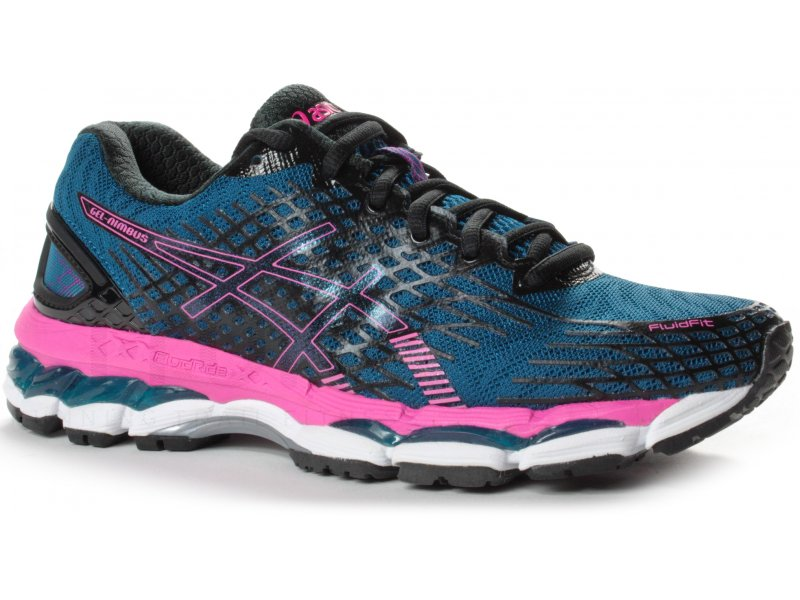 asics gel nimbus 17 w pas cher destockage running. Black Bedroom Furniture Sets. Home Design Ideas