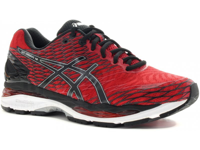 asics gel nimbus 18 m chaussures homme running route chemin asics gel nimbus 18 m. Black Bedroom Furniture Sets. Home Design Ideas