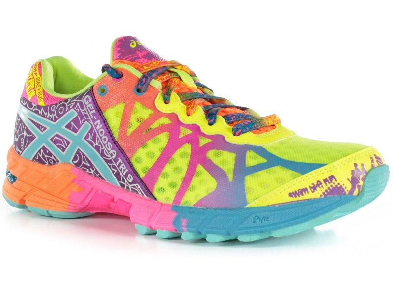 prix compétitif 3010b d0bbc chaussures running femme gel-noosa tri 9 w jaune asics