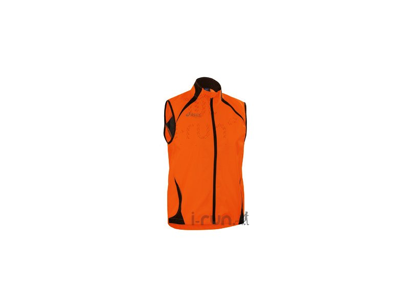 asics gilet s curit m pas cher v tements homme running manches courtes en promo. Black Bedroom Furniture Sets. Home Design Ideas