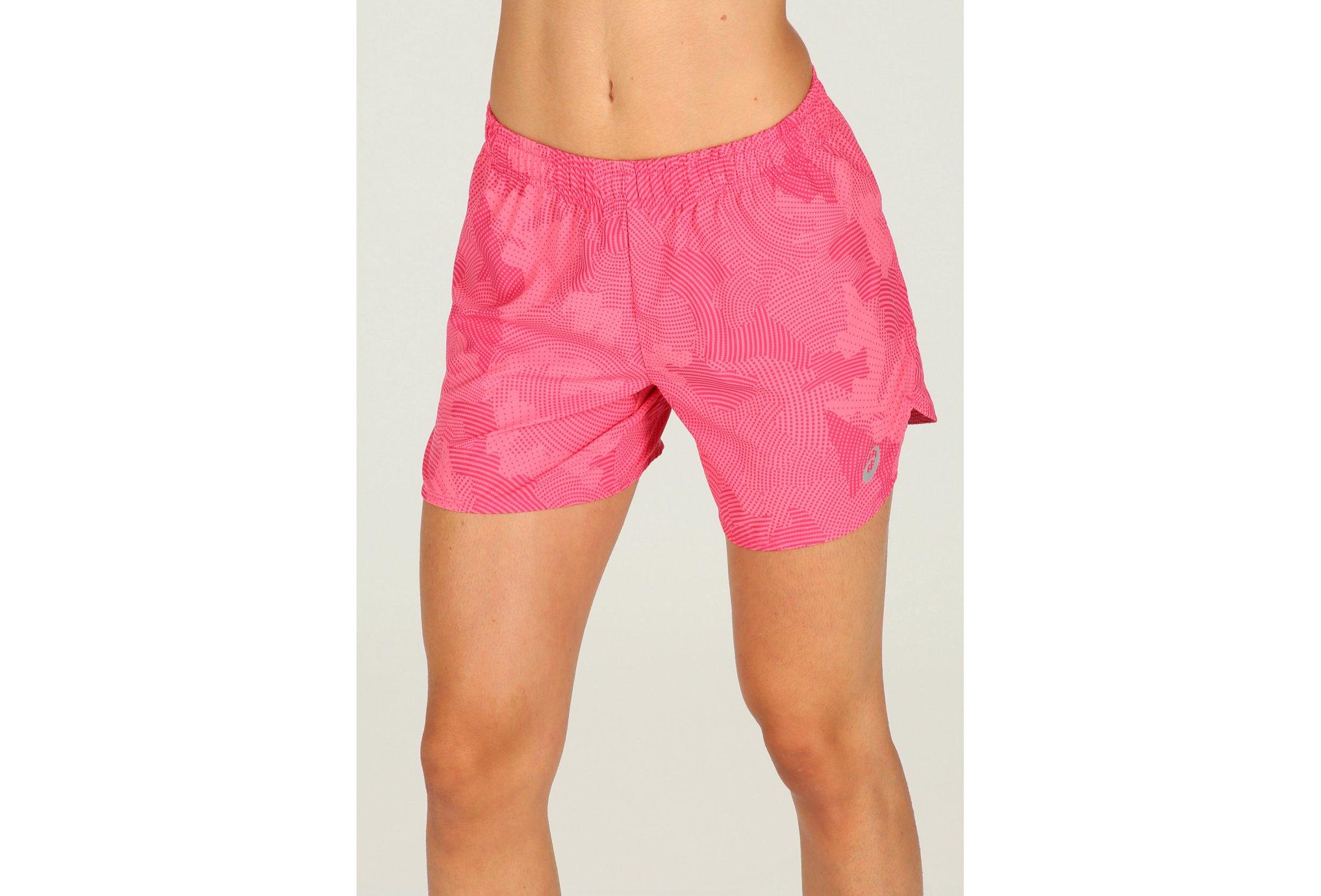 Asics Short Woven 5-5 Inch W vêtement running femme