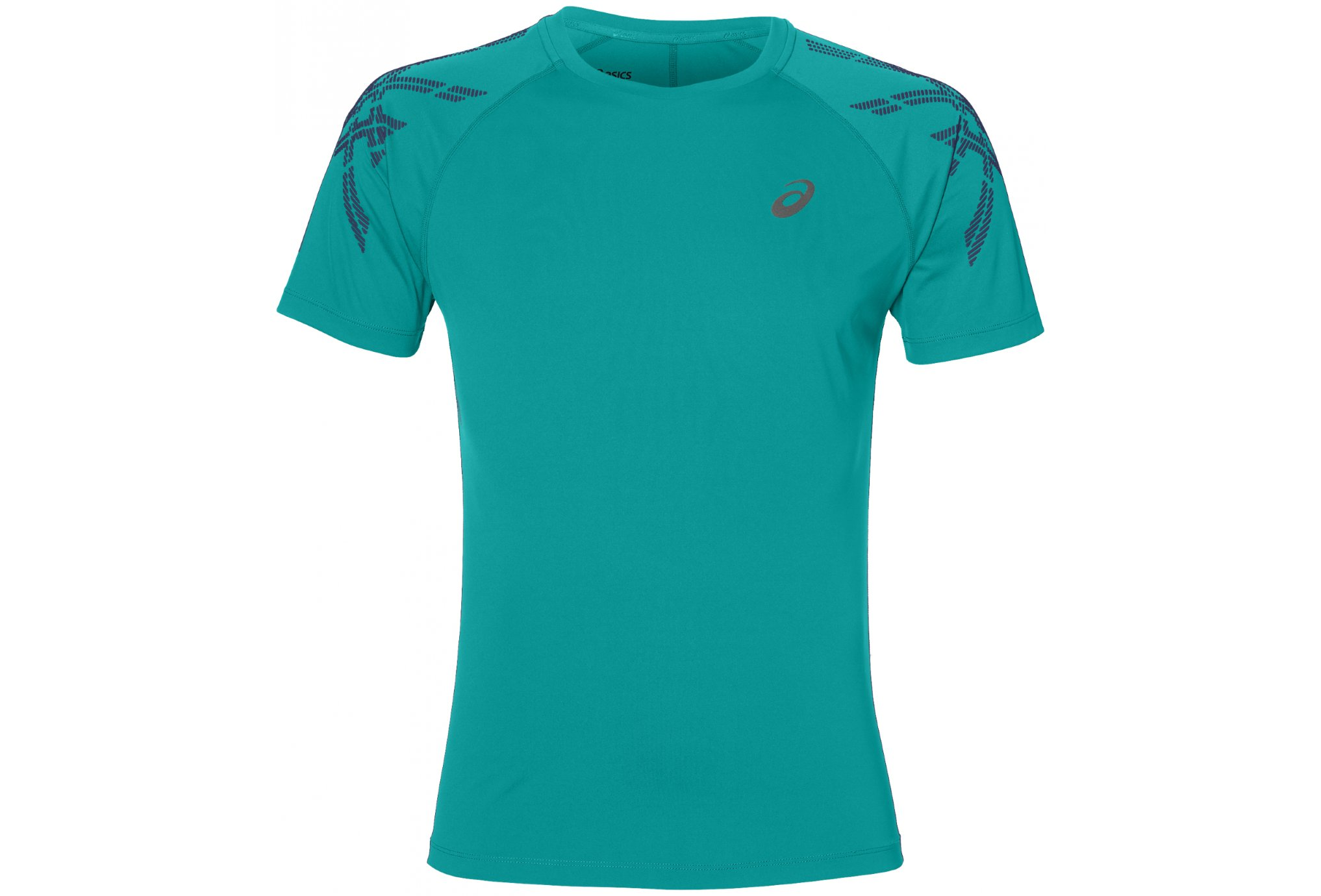 Asics Stripe SS Top M vêtement running homme