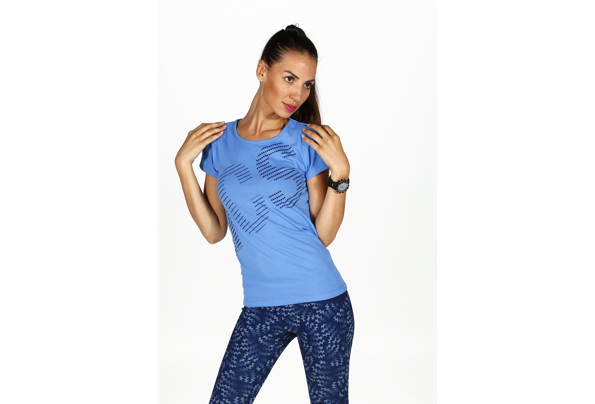 Asics Tee-Shirt Graphic W vêtement running femme