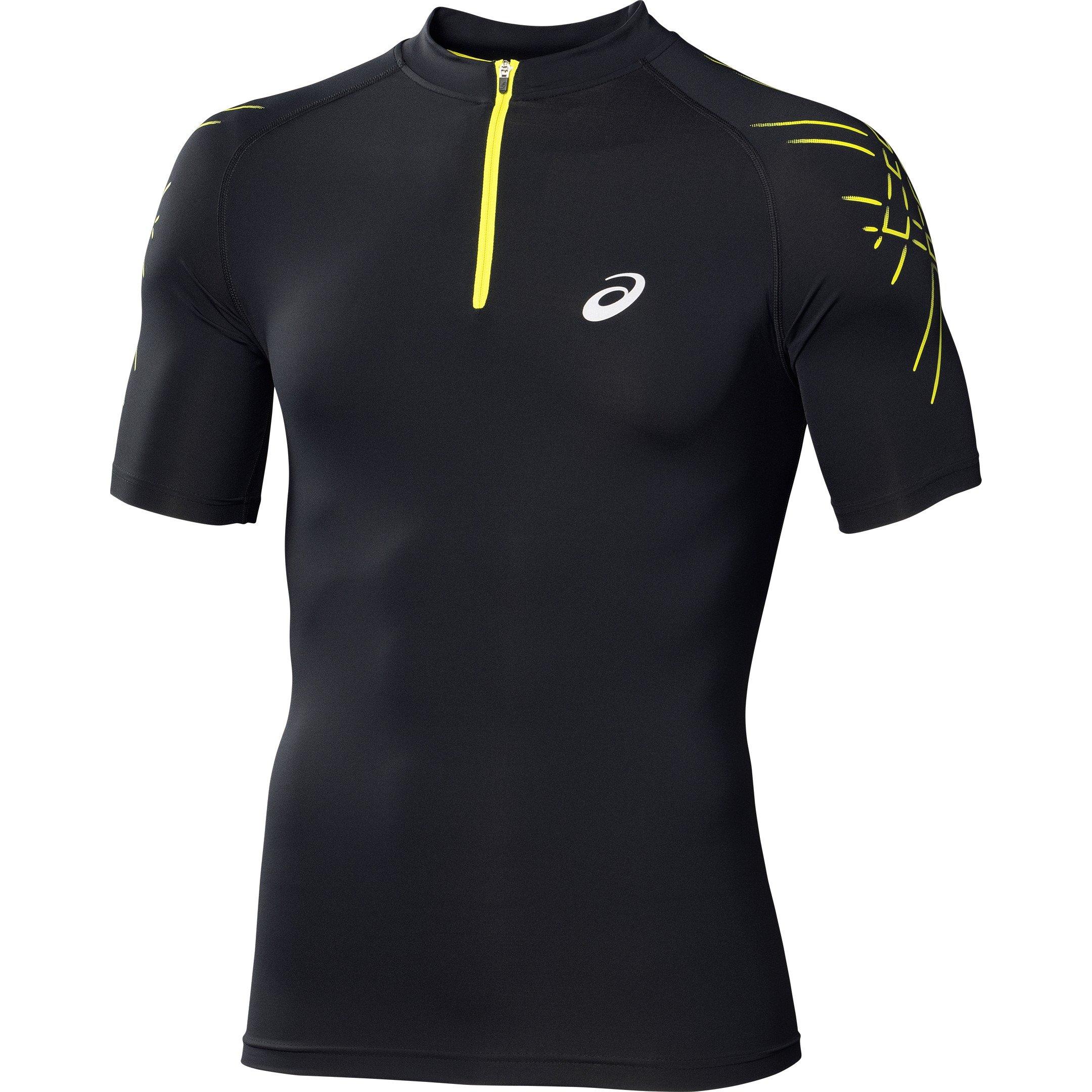 Asics Tee-shirt Inner Muscle 1/2 Zip M v�tement running homme