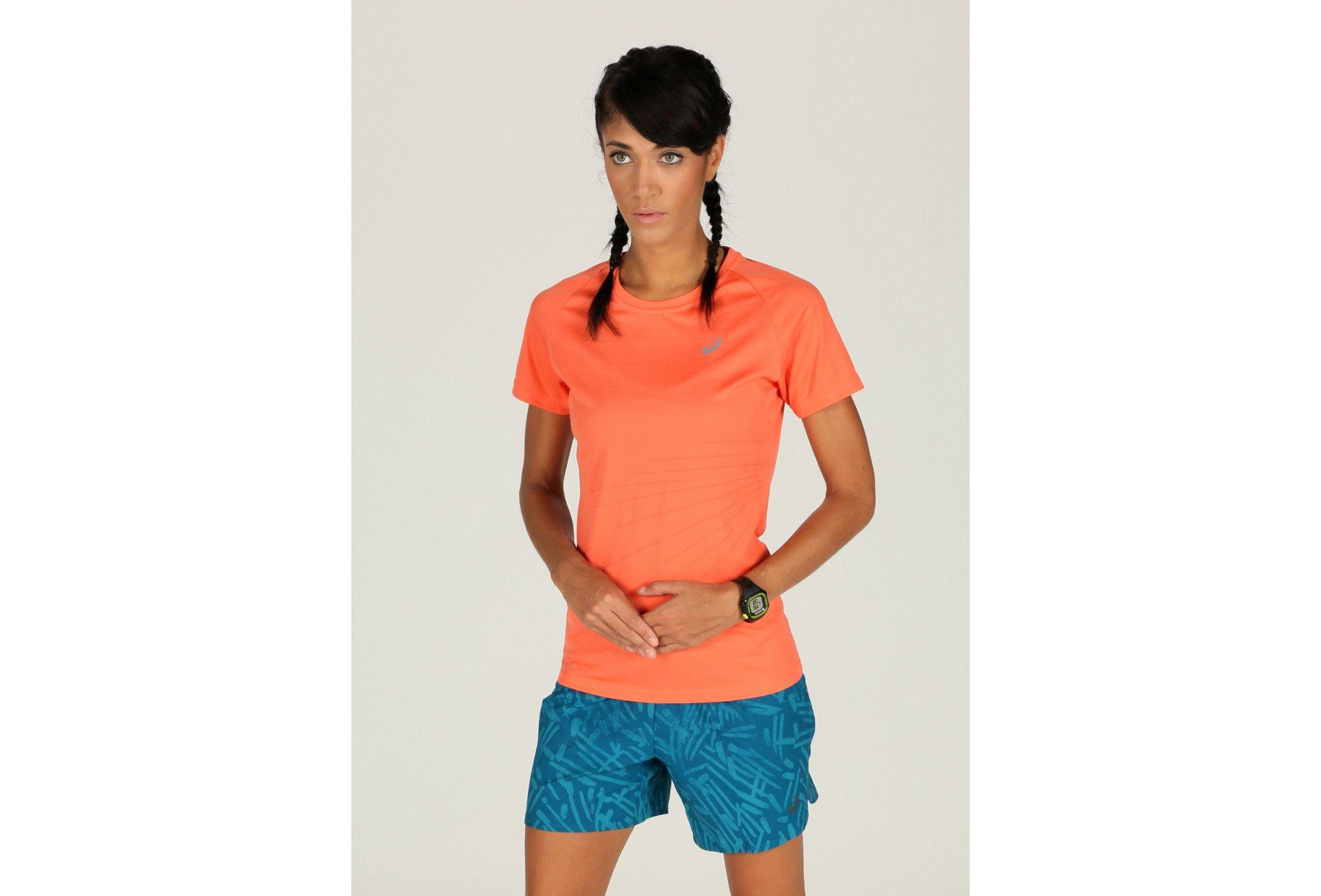 Asics Tee-Shirt LiteShow Graphic Top W vêtement running femme