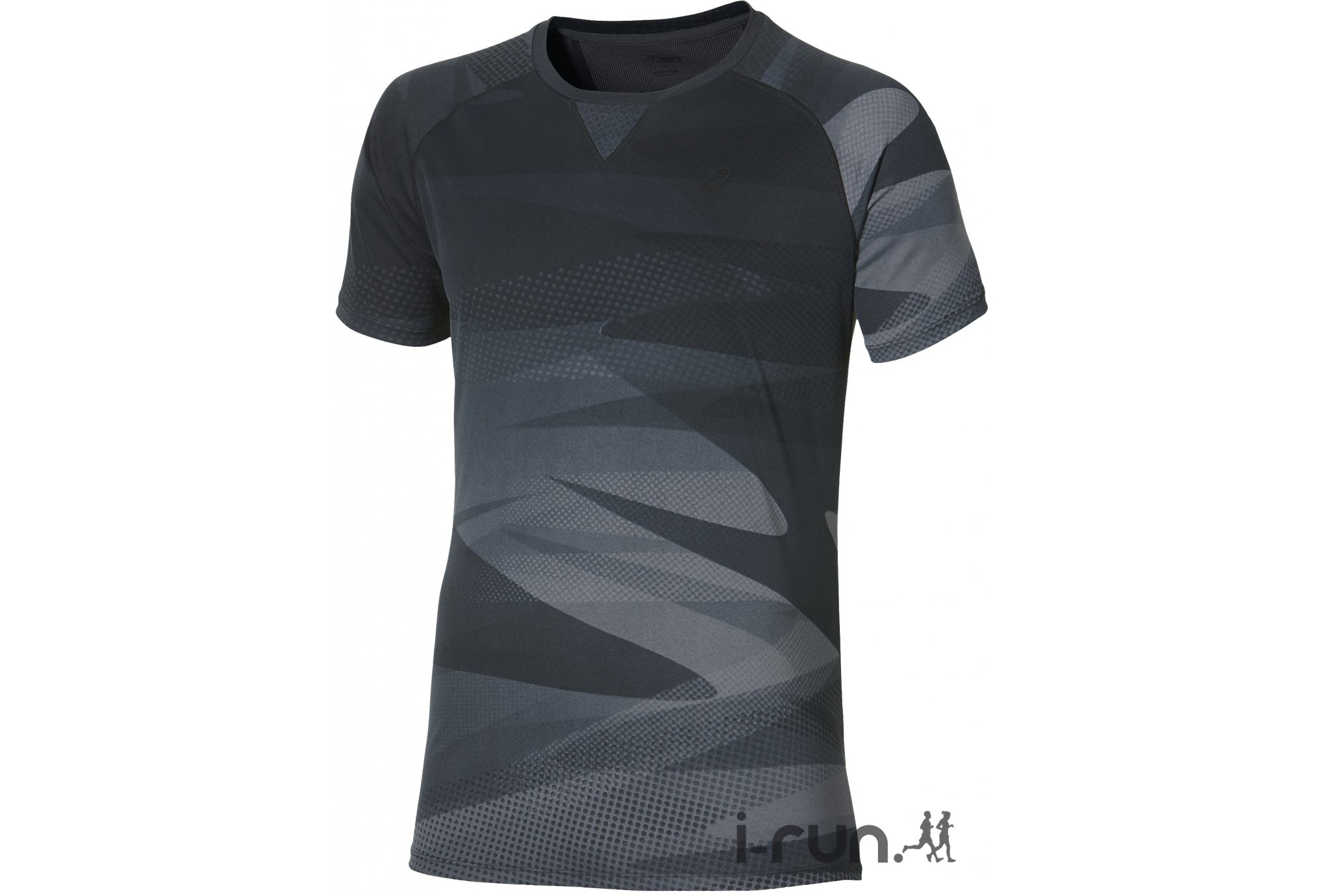 Asics Tee-Shirt Print Top M vêtement running homme