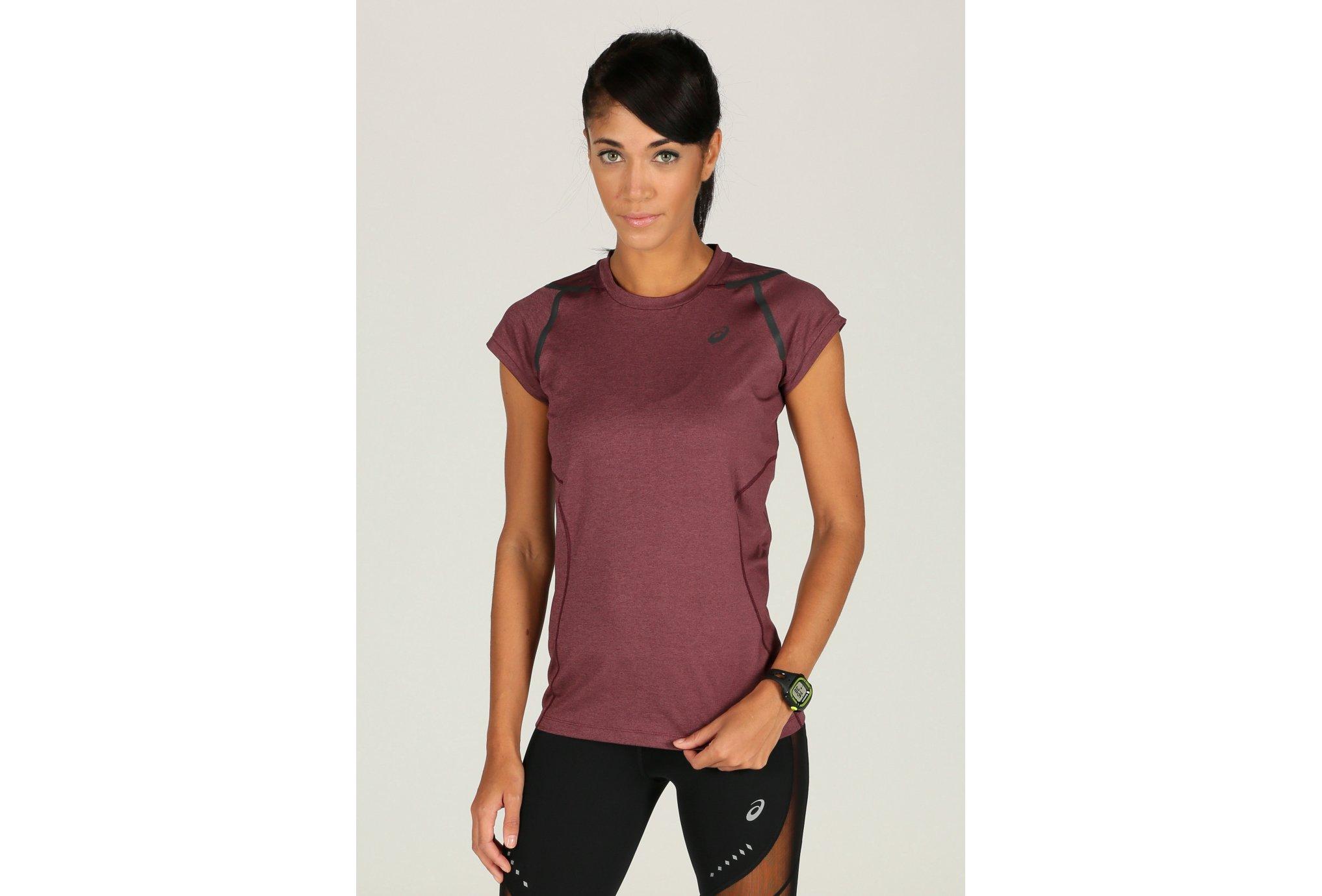 Asics Tee-shirt Running W vêtement running femme