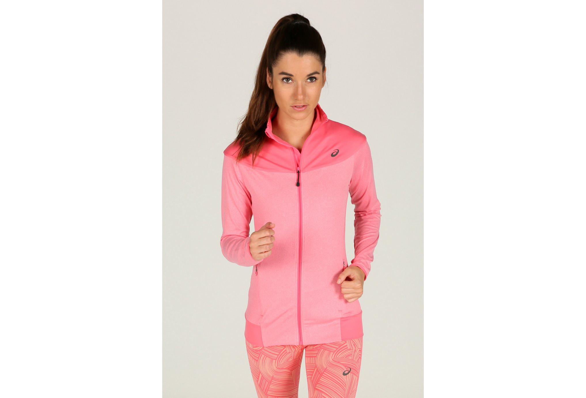 Asics Thermopolis Full Zip W vêtement running femme