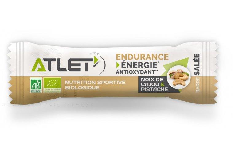 Atlet Barre Énergétique Endurance Salée - Noix de Cajou / Pistache