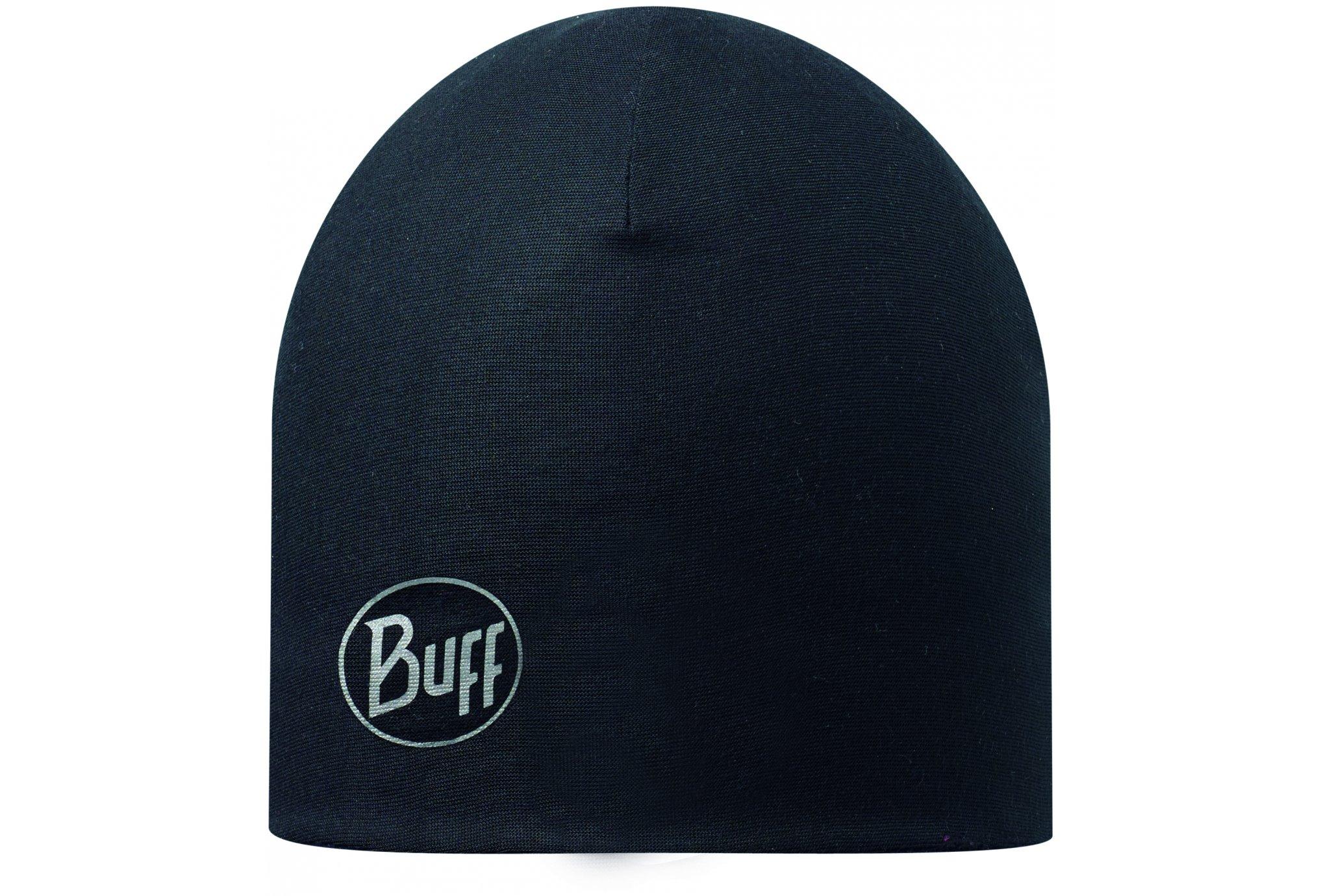 Buff Bonnet micro polar solid black bonnets / gants