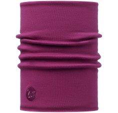 Buff Merino Wool Thermal Neckwarmer Solid Tibetan Red