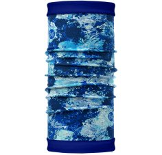 Buff Tour de Cou Reversible Polar Winter Garden Blue