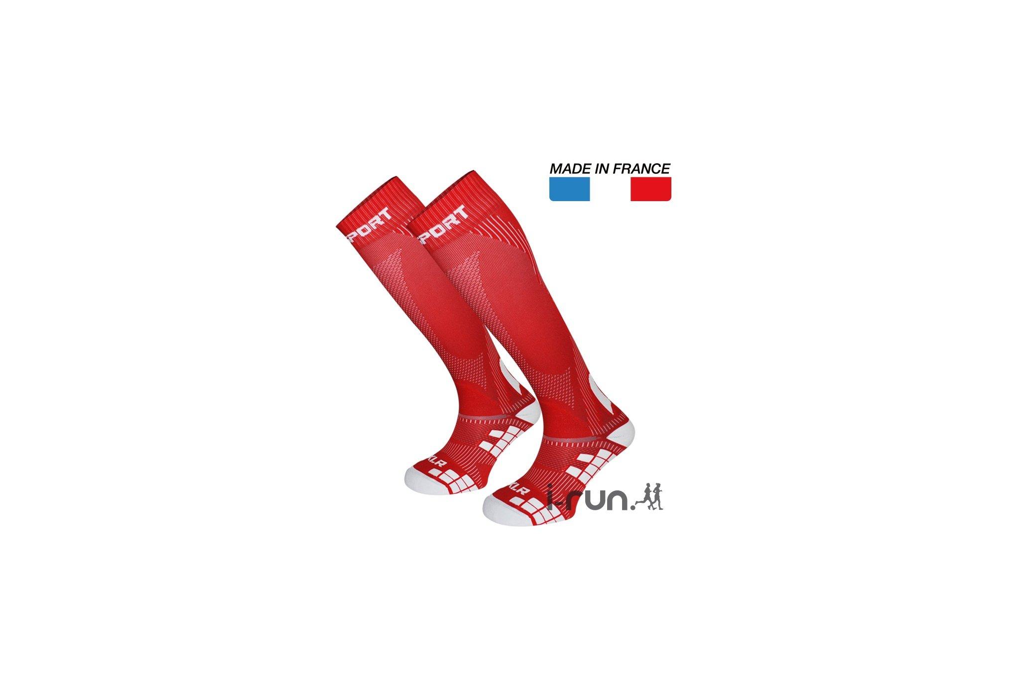 BV Sport Chaussettes de Compression XLR Chaussettes