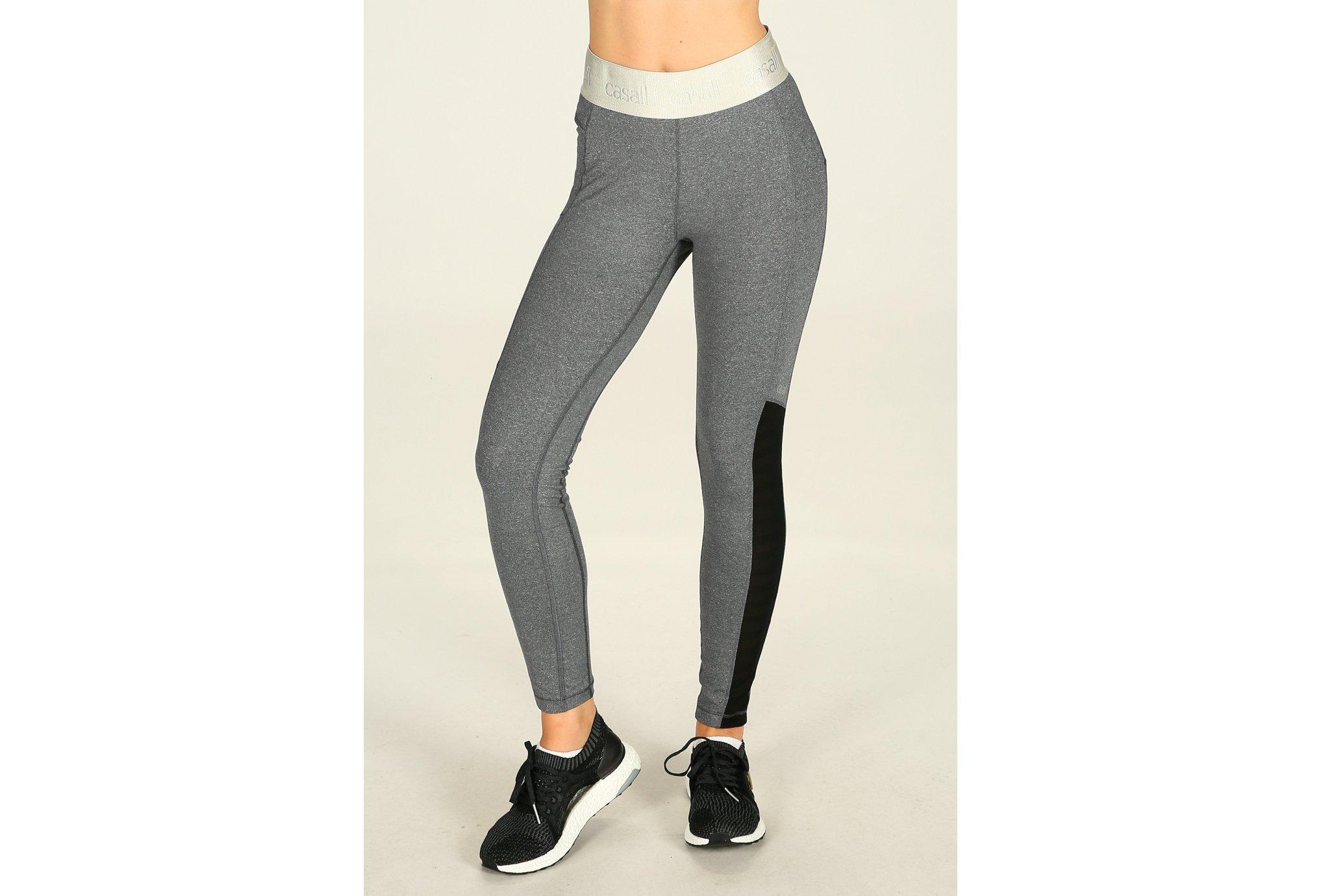 Casall Collant shiny waist 7/8 w vêtement running femme