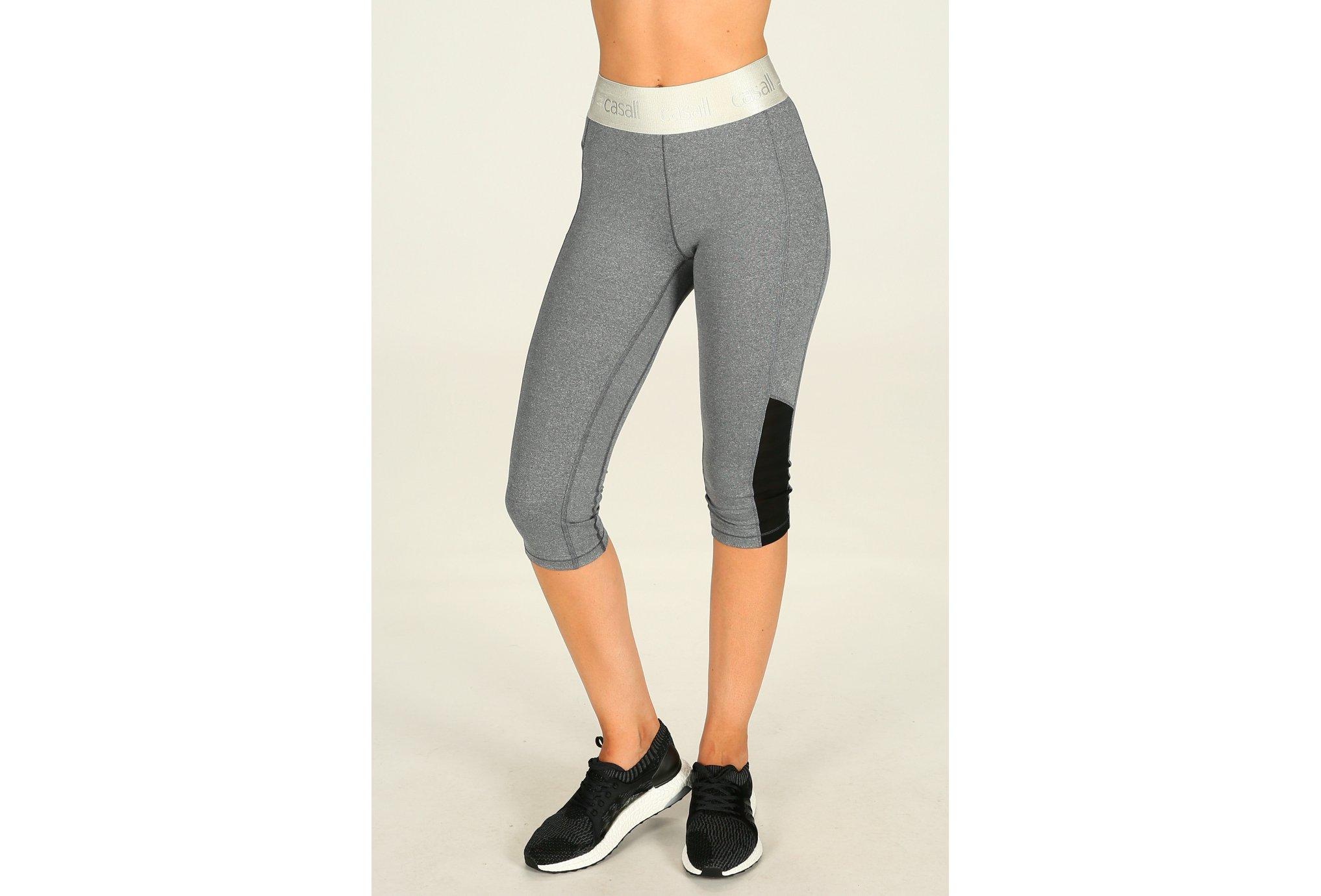 Casall Corsaire shiny waist w vêtement running femme