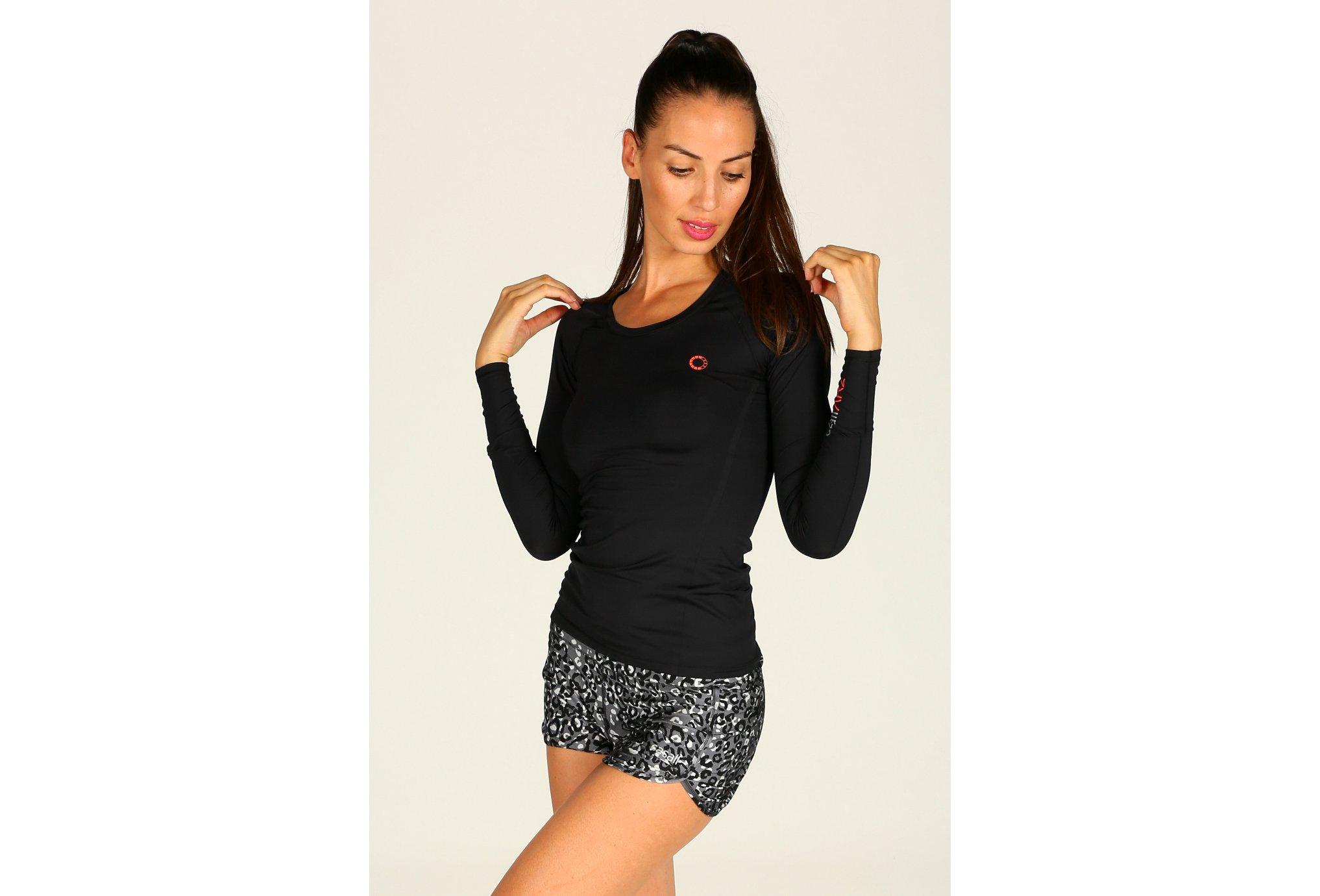 Casall Tee-Shirt ar2 compression w vêtement running femme