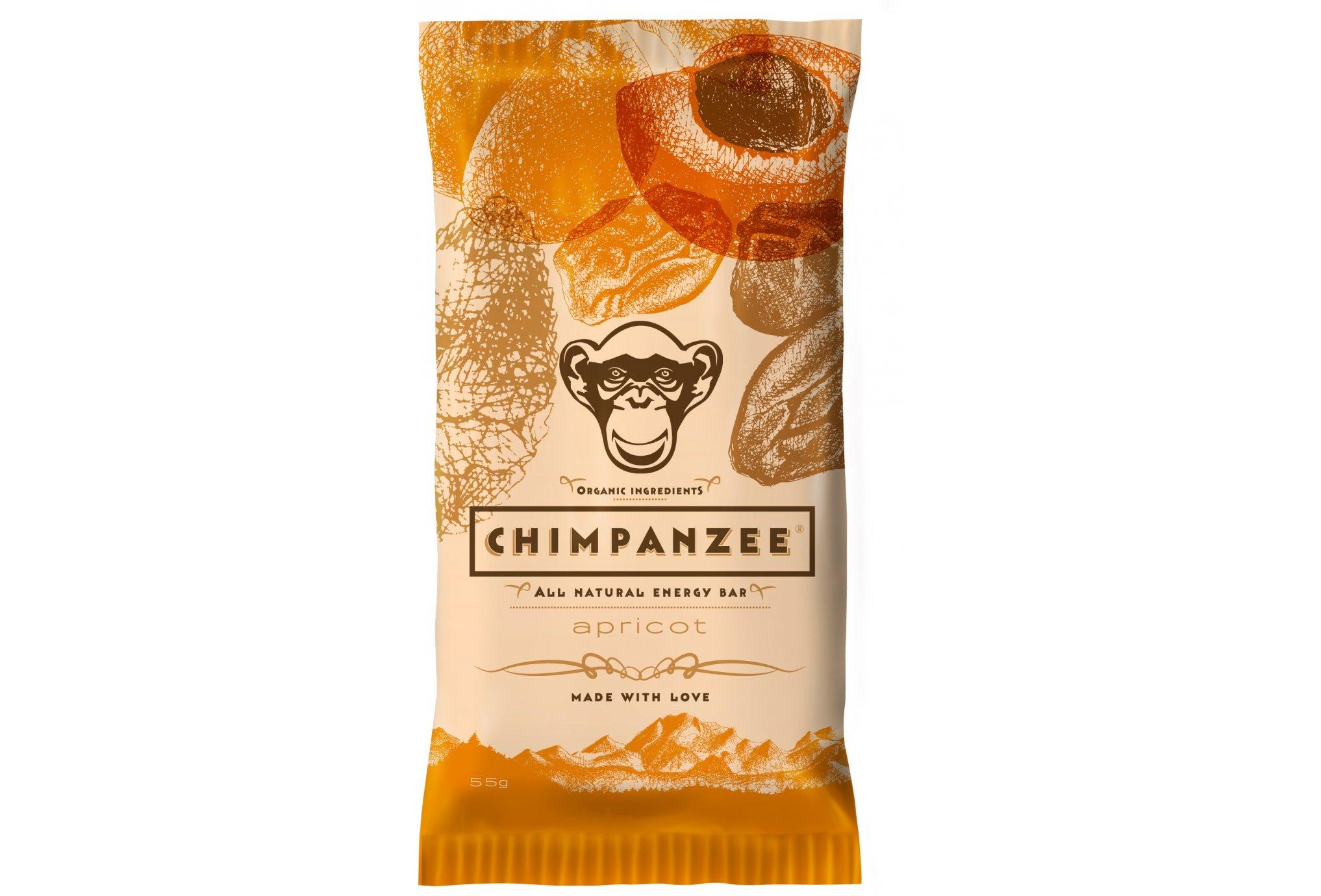 Chimpanzee Barre énergétique - Abricot Diététique Barres