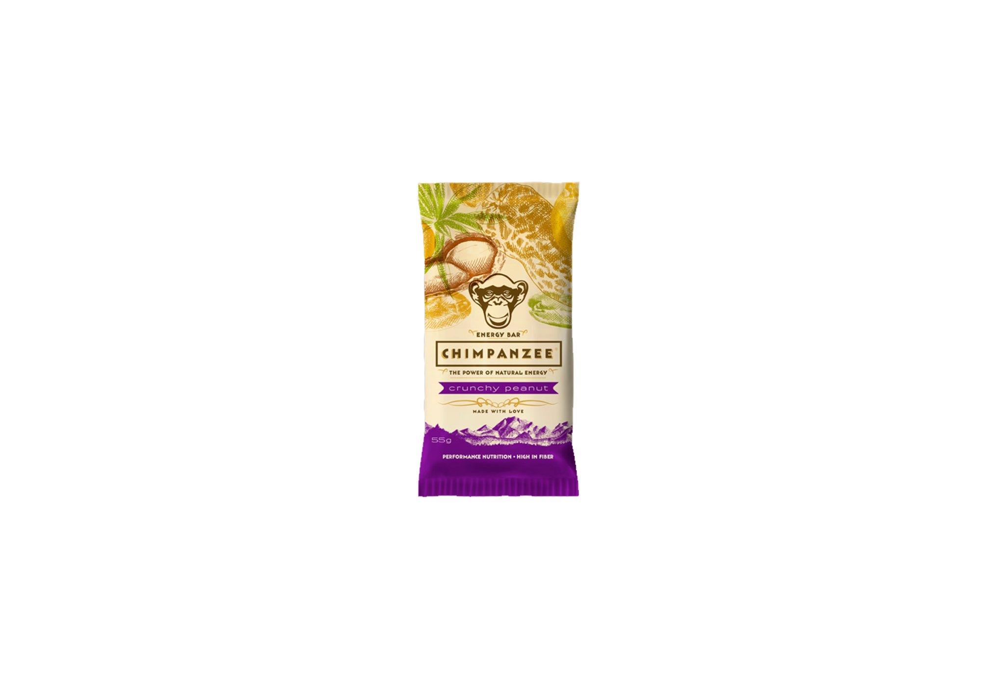 Chimpanzee Barre énergétique - Crunchy Peanut Diététique Barres