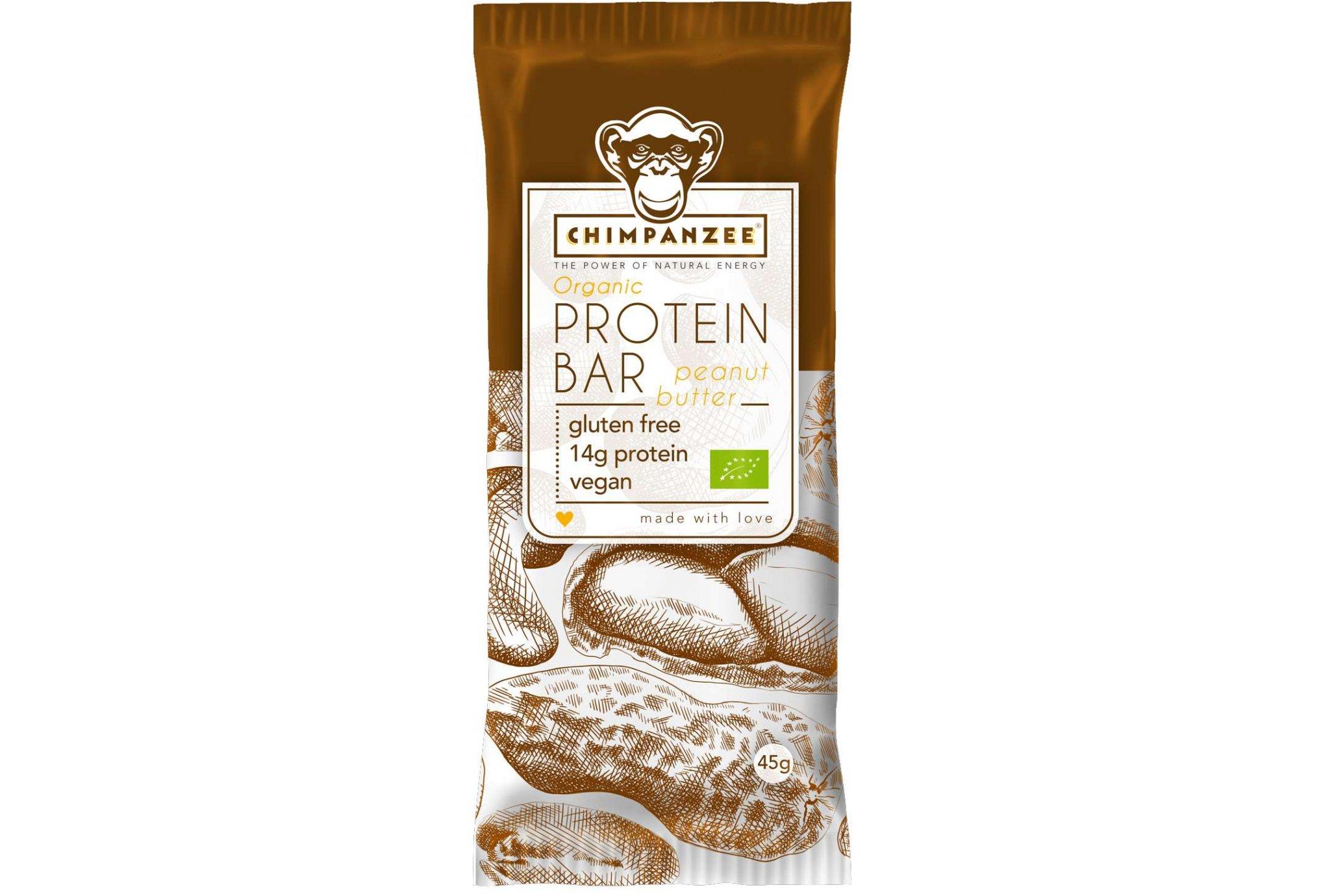 Chimpanzee Barre protéines - Beurre de cacahuète Diététique Protéines / récupération
